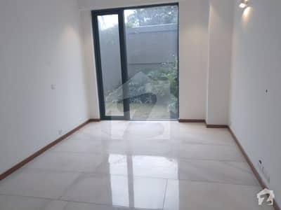 Three Bedrooms With Attached Bathrooms Luxury Apartment On Ground Floor At Main Gulberg For Rent