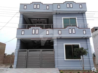 6 Marla Double Storey House For Sale Park Facing