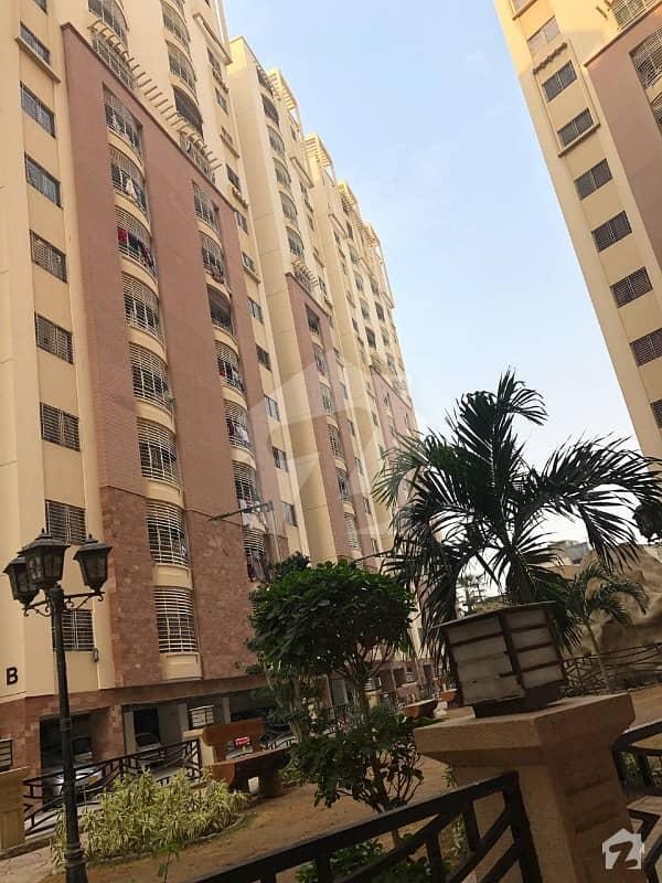 Flat for sale at harmain royal residency at gulshaneiqbal block 1