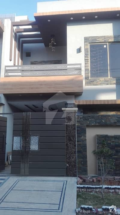 7 marla less half brand new marvelous luxury house