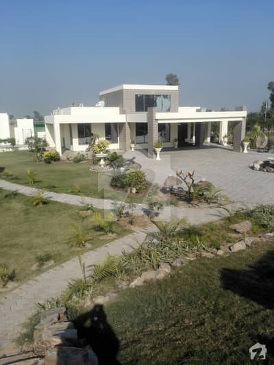 16 Kanal Farm House Is Available For Sale In Main Barki Road