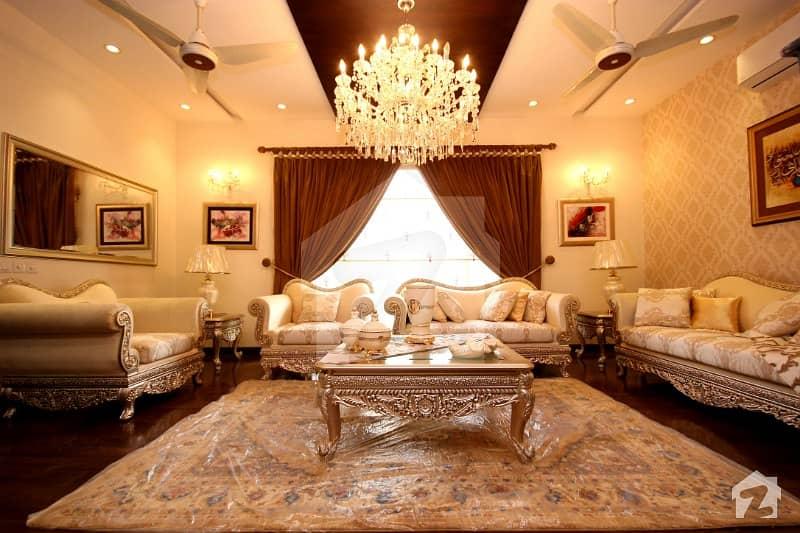 One Kanal Brand New Furnished Lavish Palace Near Shiba Park