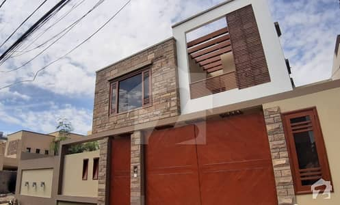 500 Sq Yards Exclusive Brand New Two Unit Bungalow For Sale