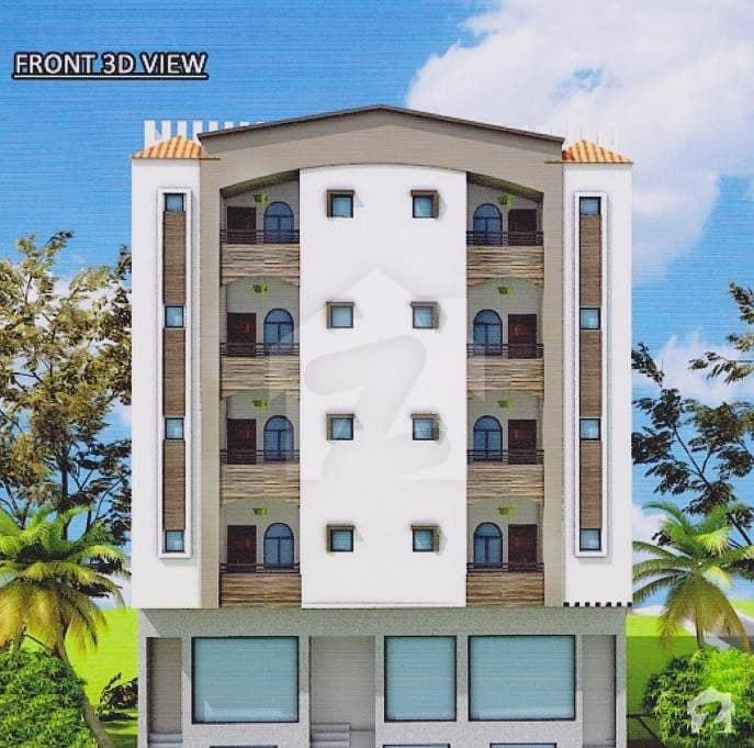 Apartments On Booking In Installments Dha City Karachi