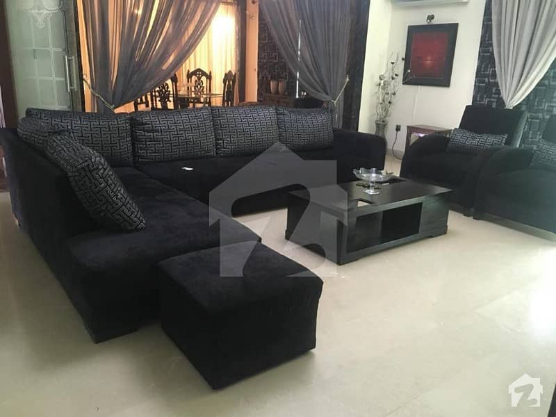 1kanal Slightly Used Furnished Beautiful Royal Design Spanish Modern Luxury Lower Portion  For Rent In Dha Phase Vi