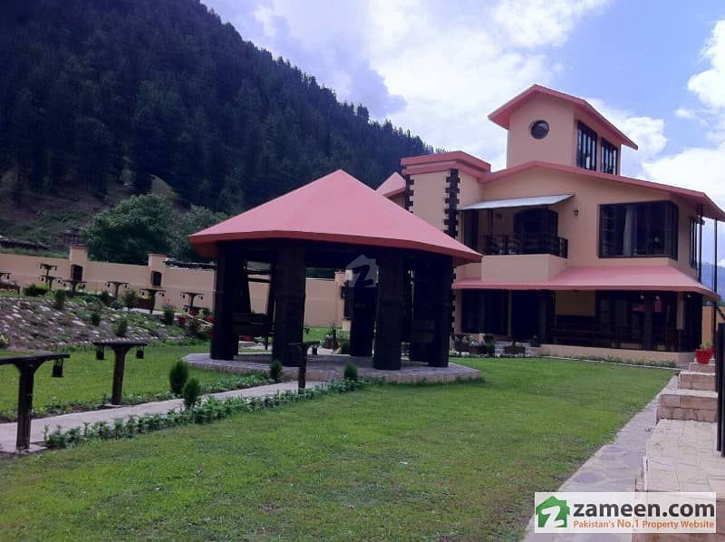 3 ½ Kanal Luxurious Brand New Furnished Bungalow For Sale In Naran On Main Naran Road,