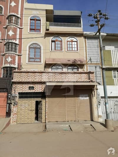 Commercial House Is Available For Sale In Korangi  Sector 33e