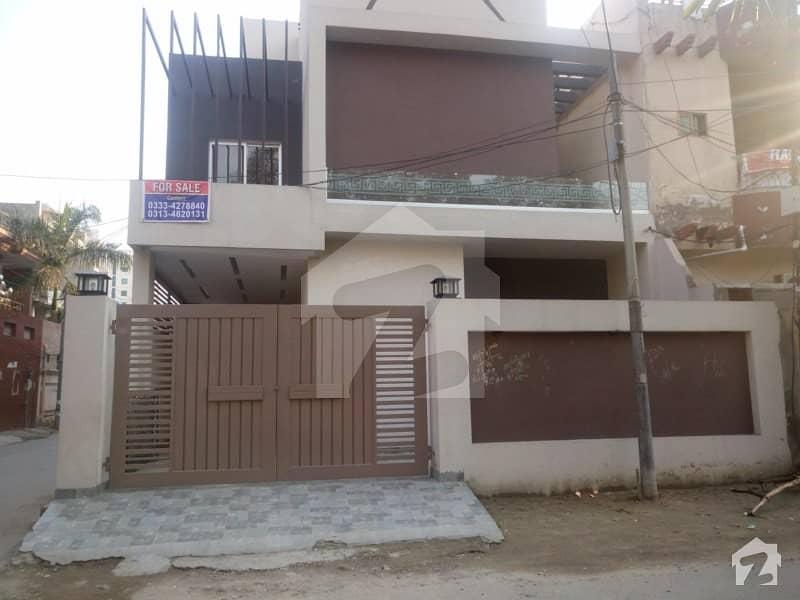 10 Marla Triple Storey Corner House For Sale In Gulberg Lahore