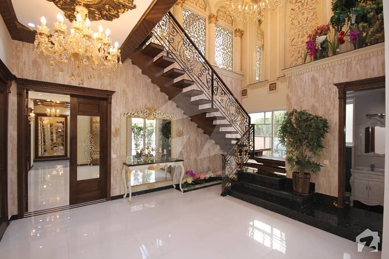 1 Kanal Brand New Magnificent Spanish Design Bungalow In Dha Phase 5 Near Commercial And Park