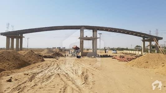 سِندھ ایمپلائیز ہاوسنگ سکیم سُپر ہائی وے کراچی میں 2 کنال رہائشی پلاٹ 35 لاکھ میں برائے فروخت۔