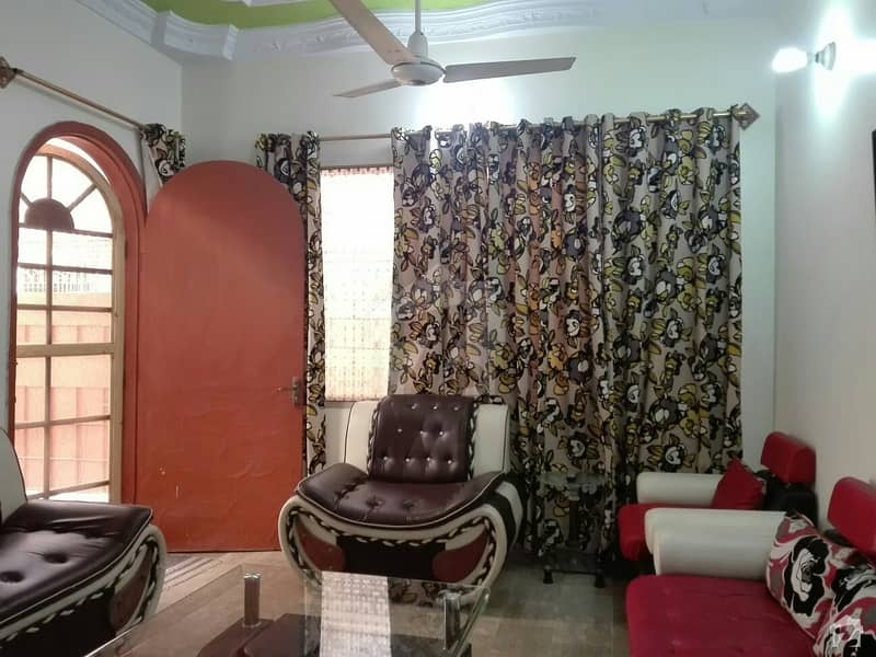 Single Storey House Is Available For Sale In North Karachi Sector 7 D1