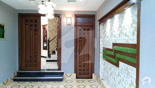 5 Marla Astonishing Brand New Double Story Hot House For Sale Near TO Mosque  Park in Aa Block Bahria Town Lahore