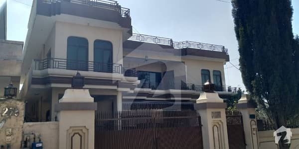 1 Kanal Triple Storey Corner House For Sale In Gulshan Abad Rawalpindi