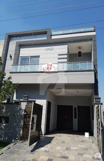 5 Marla Brand New Attractive And Decent House For Sale In Canal Gardens Block Aa Bahria Town Lahore