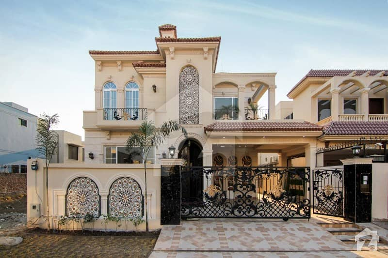 DHA Phase 5 Block K 10 Marla Brand New Modern Spanish Bungalow For Sale