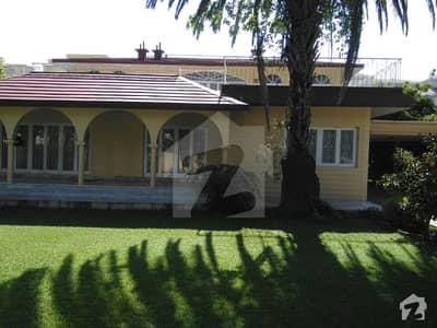 Extraordinary Location - Close To Faisal Mosque - 1244 Sq/yd House