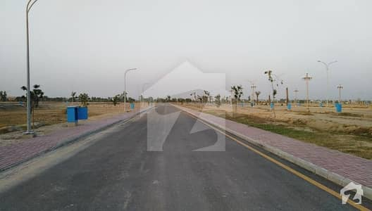 Lucrative Investment Deal In 10 Marla On Ground Residential Plot For Sale In Bahria Orchard Lahore