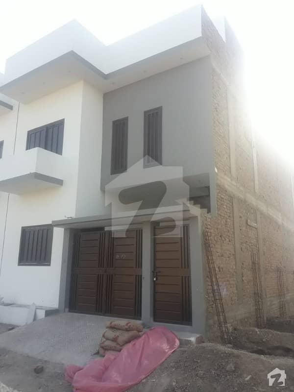 House For Sale Double Storey Marhaba City 120 Yard