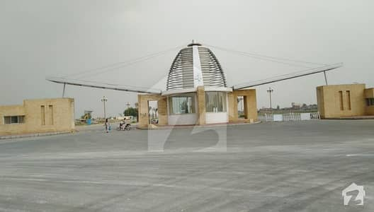 10 Marla Ready 4 Possession Residential Plot For Sale In Bahria Orchard