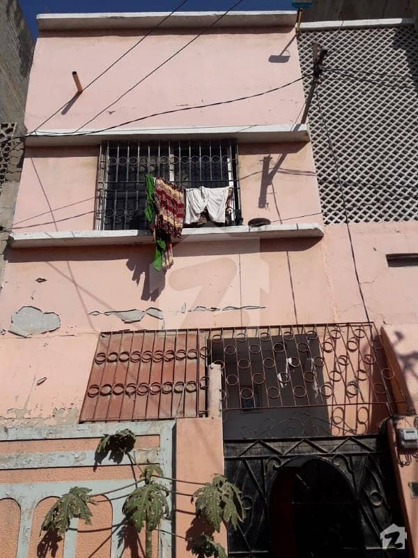 House For Sale At Best Location Of Liaquatabad Qasimabad