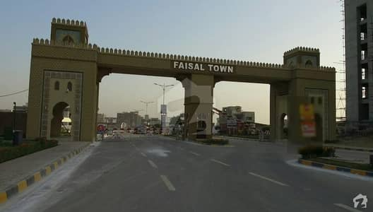 Faisal Town Block A 7 Marla Plot For Sale On Good Location First Come First Avail