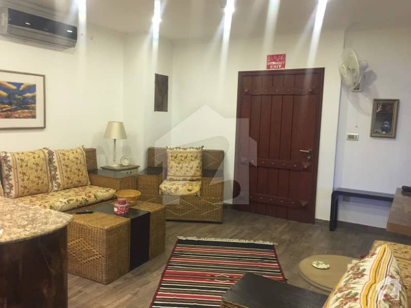 Flat Available For Rent In Dha Phase 4  One Bedroom With Attached Bath Kitchen  Store  Car Parking Also