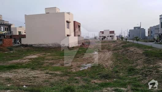 5 Marla Plot For Sale In DHA Rahber Block F