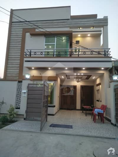 4 Marla Brand New House For Sale at  Shadab Garden