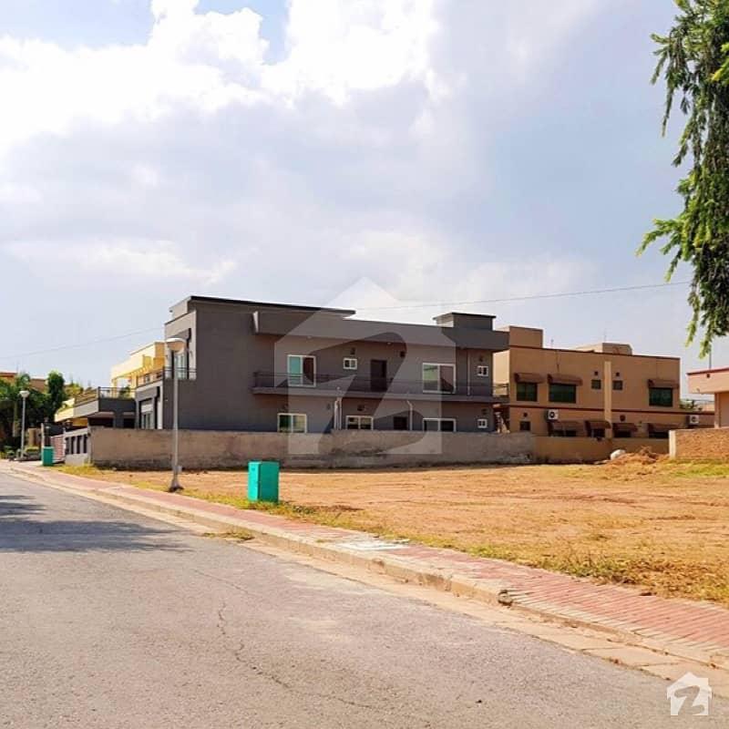 Bahria Town Rawalpindi: 10 Marla Plot Available For Sale Main Boulevard Corner
