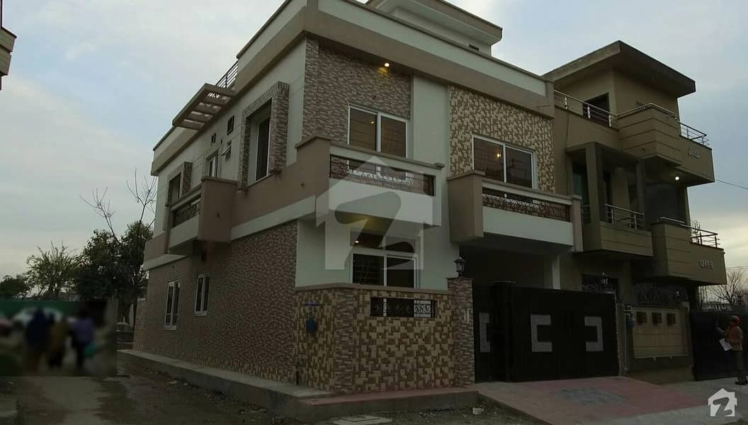 Brand New Corner 2 Unit House For Sale In I-10/4 Islamabad