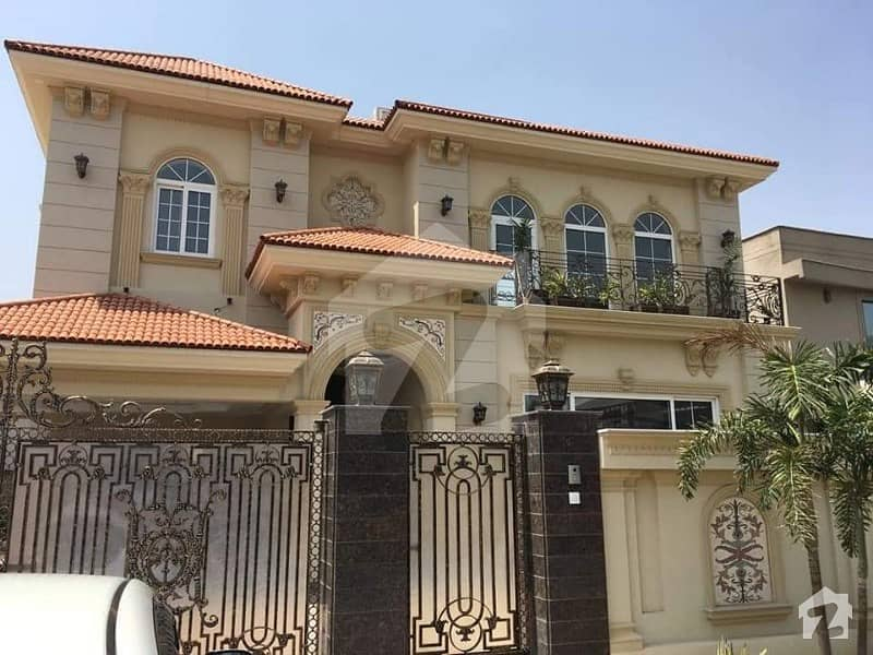 1 Kanal Brand New Out Class Spanish Bungalow Available For Rent Dha Phase 5