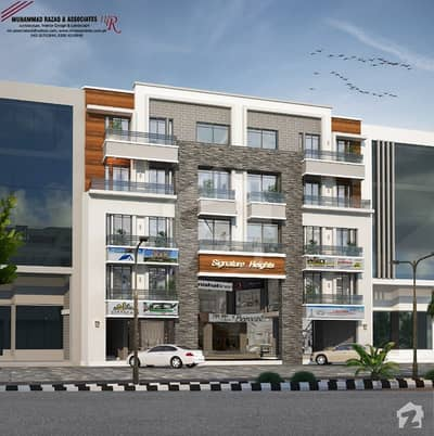421 sq fit STUDIO APPARTMENT IS AVAILABLE FOR SALE IN DREAM GARDENS HOUSING SOCIETY