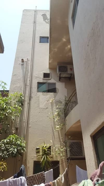 10 Marla Portion For Rent In Gulberg Mm Alam Road