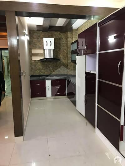 2BED DD FOR RENT AT IN BRAND NEW BUILDING SHAHEED MILLAT ROAD