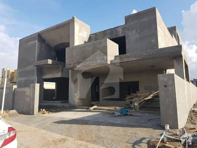 Rare Opportunity  Revised Price Grey Structure Completed  Designers House Semi Corner Bahria Town  Phase 8 Block A Pak Rs 22500000/-