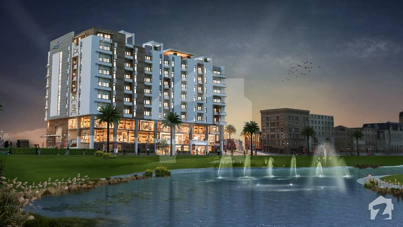 Lake View Luxurious 1 Bed Apartment In Bahria Town On Easy Installment Available For Sale