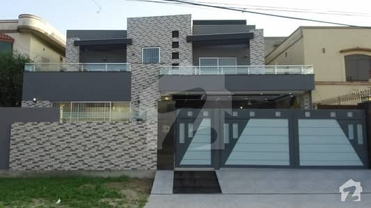 1 Kanal Double Unit Brand New House For Sale In Wapda Town Phase 1 Lahore