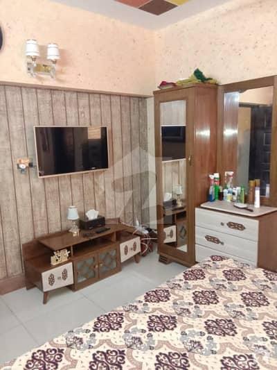 2 BED LOUNGE FLAT FOR SALE NEAR MALIR CHECK POST NO 6KARACHI