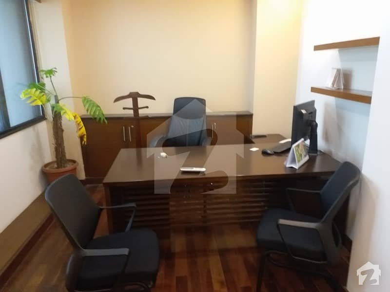 3000 Sq  Ft Fully Furnished Office On Rent With 03 Reserved Parking