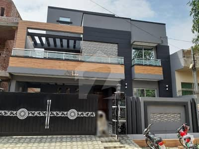 10 marla brand new designer house for sale near wapda town roundabout and main road