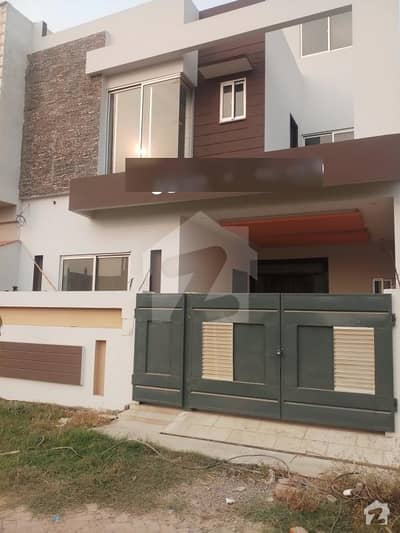 Five Marla Beautiful House At Takbeer Homes Main Harbanspura Road Lahore