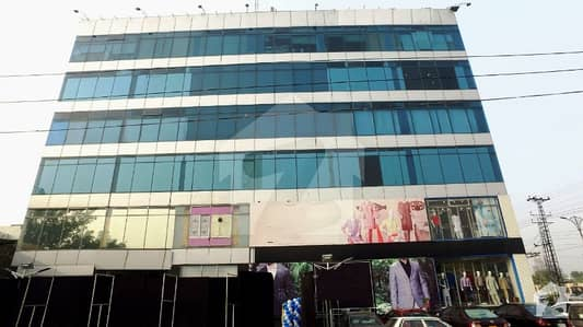 2 kanal commercial building available for sale on MM Alam main road Gulberg