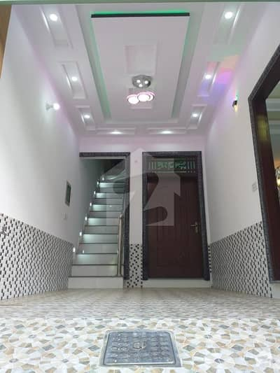 Ponay 3 Marla Brand New 30ft Road Double Storey with Hatchback Car Parking in Lalazar Garden