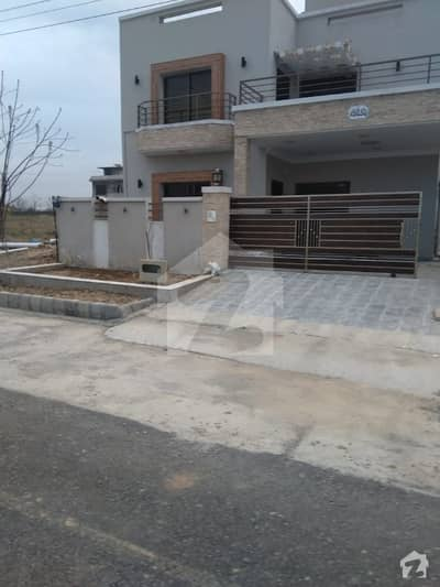 Next To Corner Road Facing Newly Constructed House Ground  One