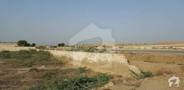 Sindh Secretariat Govt CHS 150 Ft Road Back West Open Plot For Sale