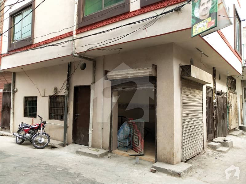 Dhai Marla Corner Old House With A Shop Triple Storey For Sale In Cheap Price