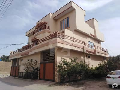 House Is Available For Sale On 30 Feet Double Sides Road
