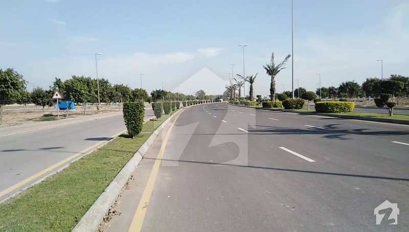1 Kanal Open Form Fully Developed Plot File On Installment Plan  EE Block Bahria Town Lahore