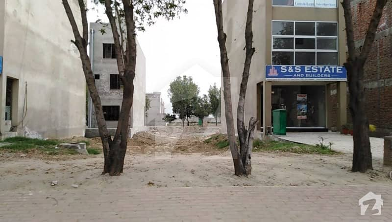 3 Marla Commercial Plot For Sale In Bahria Town Lahore