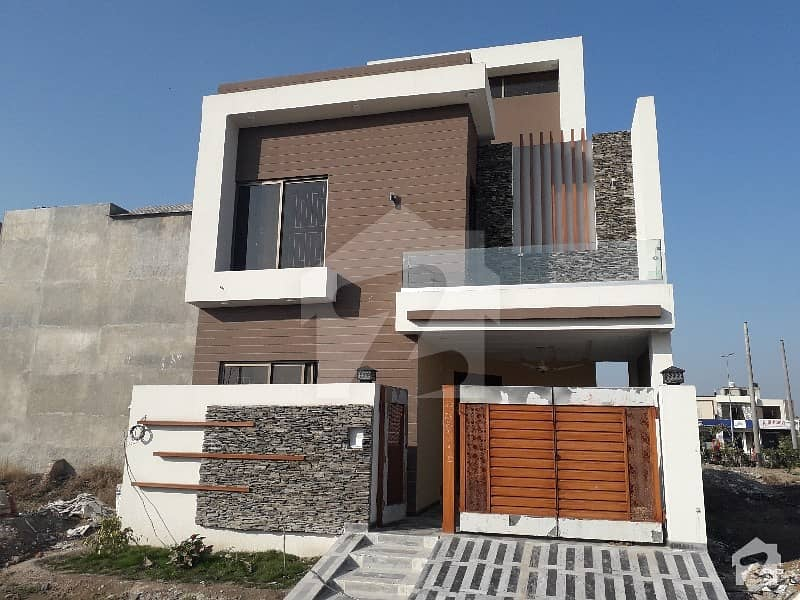5 Marla Brand New House Available For Sale Facing Park In Sa Garden Lahore Gtroad